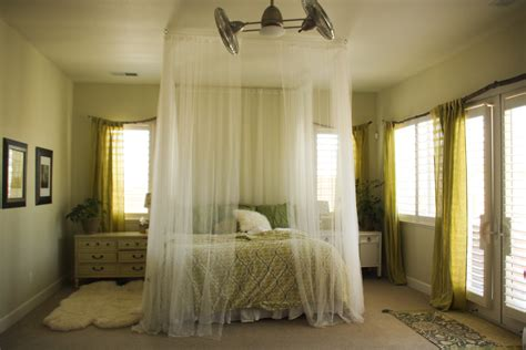 Ceiling Bed Canopy Diy Canopies On A Budget Canopy Bed Curtains