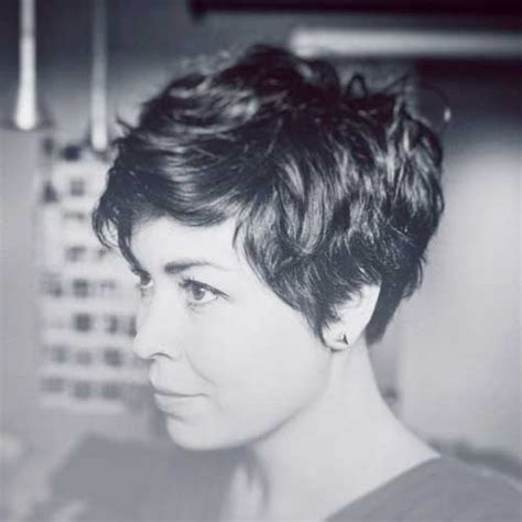 pixie cut for wavy thick hair 35 short haircuts for thick hair short hairstyles 2017