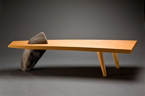 unique upholstery gibralter bench wood bench coffee table seth rolland