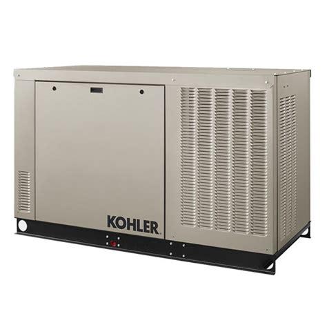 kohler 24rcl 120 240v 1ph standby generator with aluminum