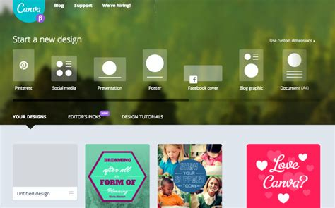 canva like sites 5 design tools to create pinnable images