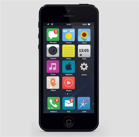 8 To Look Like This by Eight Ios 7 Flat Ui Mockups Is This What Your Next Iphone