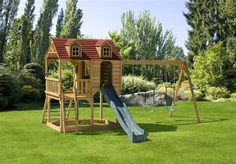 backyard swingset 605 little rancher s rest swing set swingsets luxcraft