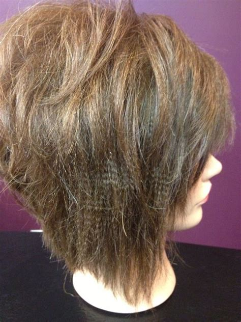 two toned diagonal forward cut diagonal forward haircut diagonal forward and flat irons