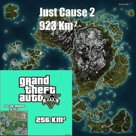 just cause 3 map size gta v map compared to just cause 2 gta v gtaforums