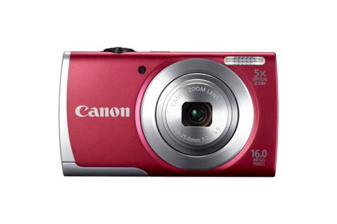 Lcd Kamera Canon A2500 C 225 Mara Digital Canon Powershot A2500 16mp Lcd 2 7 Quot Roja 8255b001