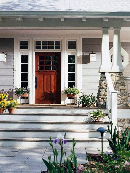 craftsman style front porch stairs craftsman style front arts and crafts mission style decor pinterest