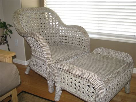 pier 1 wicker chair ottoman for sale in ogden utah