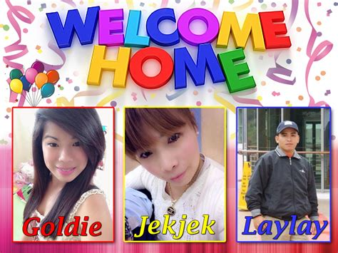 welcome home goldie jekjek laylay cebu balloons and