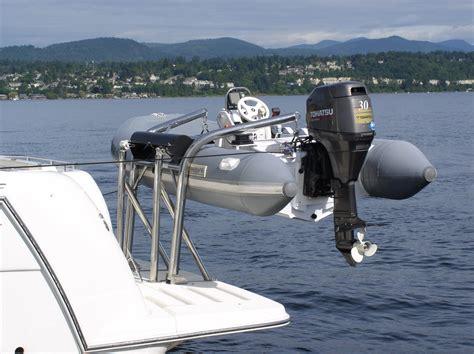 boat lift us installation instructions olsson mfg transom davits the rs 8 rs 10