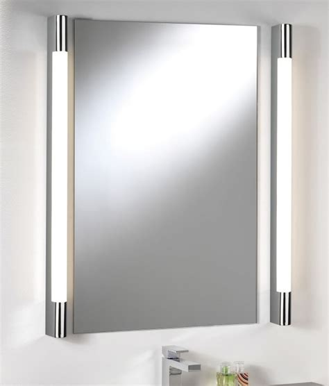 side lights for bathroom mirror over mirror light half round