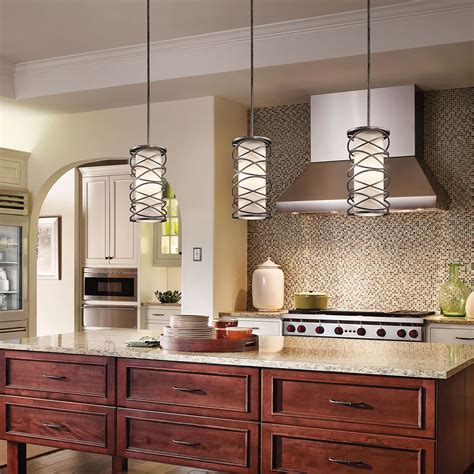how to light a kitchen kitchen lighting gallery from kichler