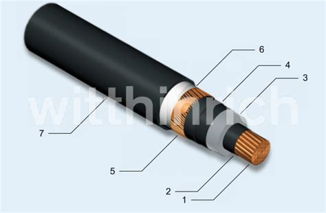 Kabel Xlpe 20 Kv cu xlpe cws mdpe medium voltage cable with xple insulation and mdpe sheath witthinrich gmbh