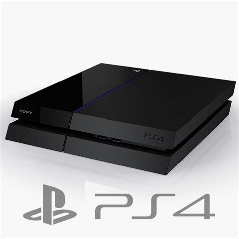 playstaion 4 console sony playstation 4 console c4d