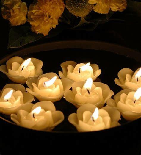 imagenes de luto velas velas flotantes para decorar treinta y ocho ideas