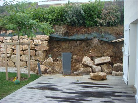 Aménagement Piscine Bois Hors Sol by Am 233 Nagement Ext 233 Rieur Maison Terrain En Pente Si91