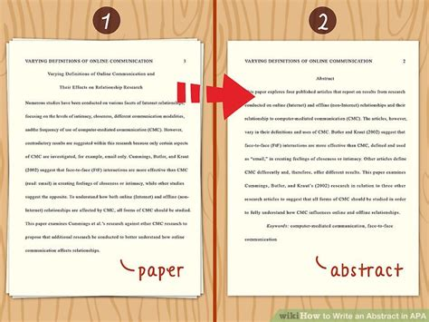 abstract van thesis how to write an abstract in apa 14 steps with pictures