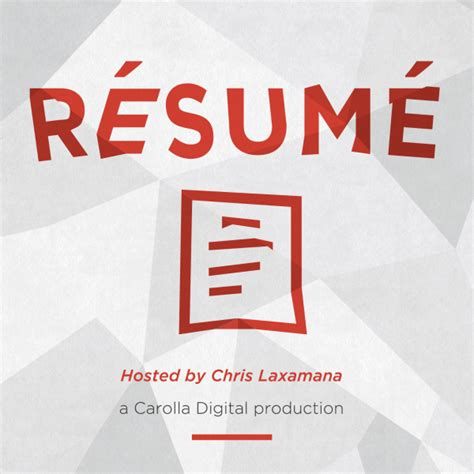 Resume Podcast by Resume Podcast Resume Ideas