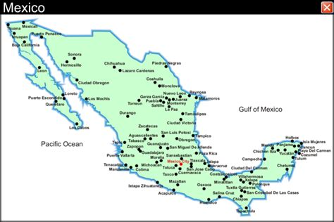 map of mexico vacation spots plan your vacation in mexico to vacation spots trips