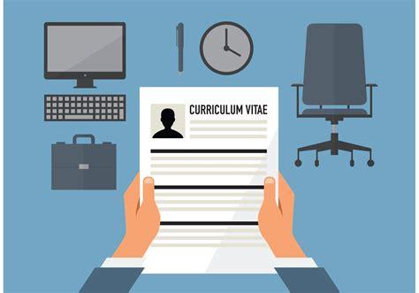 curriculum vitae vector free vector stock