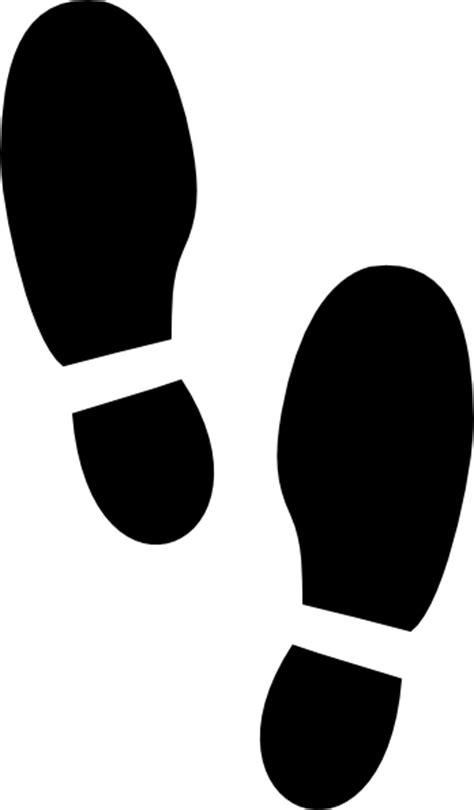 footprint printable clipart best