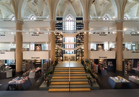 a2arhitektura library interior transformation 15th century church converted to book shop