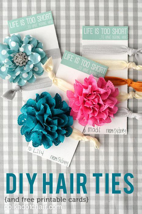 hair tie card template free printable cards for diy hair ties