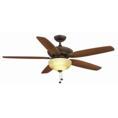 60 inch ceiling fans home depot hton bay langston 60 in rubbed bronze ceiling fan