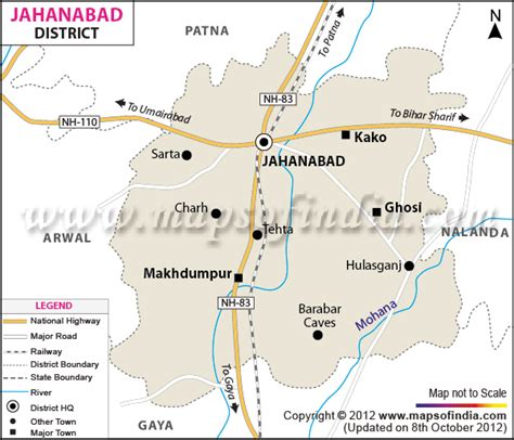 map of begusarai district jahanabad district map