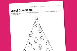 worksheet wednesday vowel ornaments paging supermom