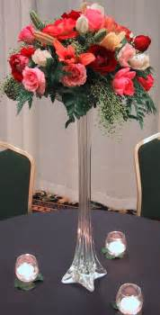Flowers In Vases For Centerpieces Wedding Centerpieces Tall Vases With Flowers Wedding