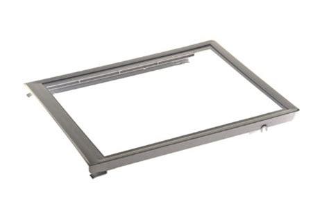 frigidaire upper crisper drawer cover frigidaire 240354502 upper crisper pan cover for
