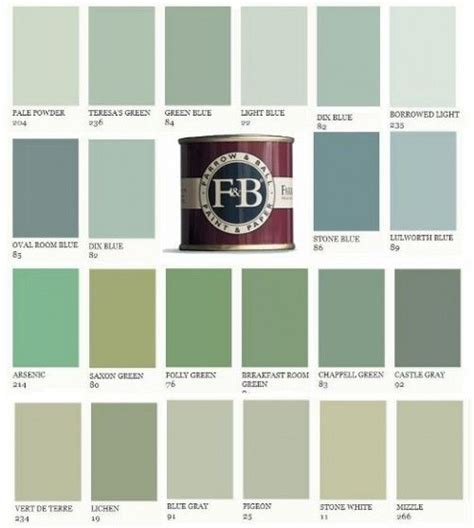 farrow and paint colors swedish paint colors farrow and paints 500x557