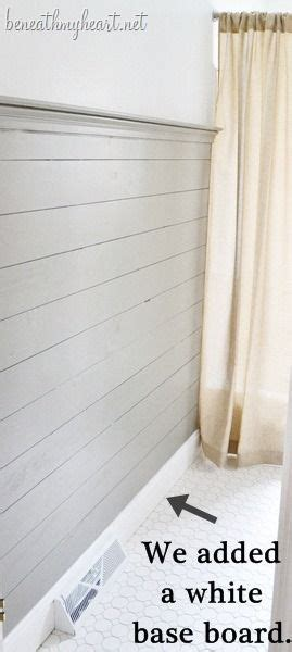 How To Install Wainscoting Planks by How To Install Wood Plank Walls Diy Projects I Wanna Try