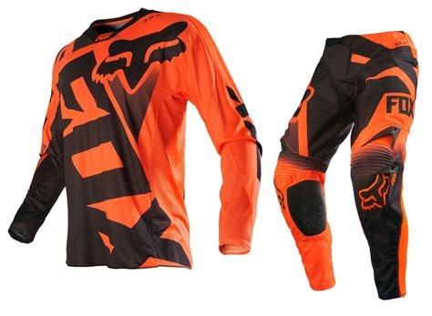 fox motocross gear fox racing new 2016 mx 360 shiv orange black ktm motocross