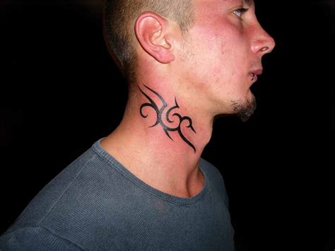 neck tattoo easy 36 awesome neck tattoos to consider