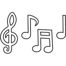 10 Interesting Music Notes Coloring Pages For Your Lover Little  sketch template