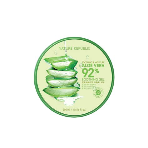 Nature Republic Aloe Vera Soothing Gel Lip Balm nature republic soothing moisture aloe vera 92