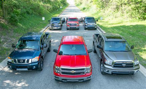 light duty truck comparison comparisons of the 2013 half ton trucks autos weblog