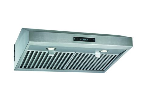 stainless steel under cabinet range hood stainless steel 30 quot range hood under cabinet kitchen dual