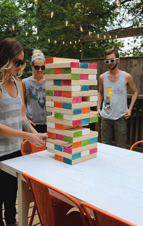 backyard jenga game 50 outdoor games to diy this summer backyards for kids
