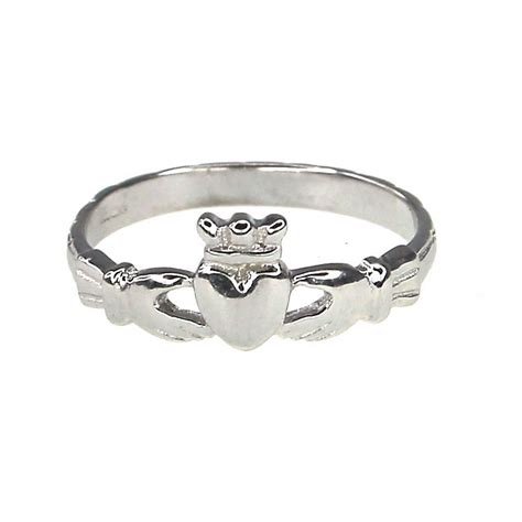 cailin sterling silver claddagh ring size o h samuel