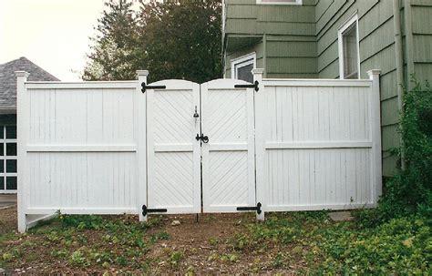 white wooden gates vinyl fencing ranch rail  rail