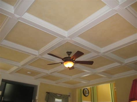 faux coffered ceiling faux coffered ceiling for the home