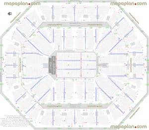 Philips Arena Floor Plan oakland coliseum seating chart rows submited images