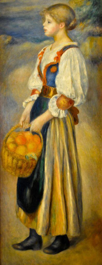 libro ba renoir espagnol pierre auguste renoir with a basket of oranges 1889 at national gallery of art