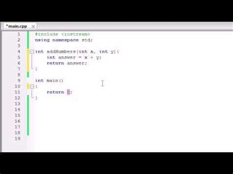 tutorial for c language buckys c programming tutorials 11 functions that use