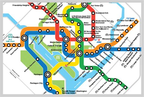 washington dc map subway can you identify these cities from their subway maps