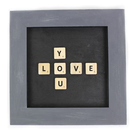 scrabble i you diy scrabble tile wall decor a craft in your daya