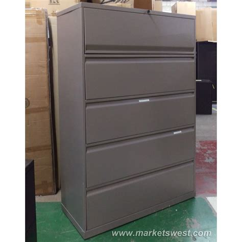 4 Drawer Knoll Lateral File Cabinets Used Used Lateral File Cabinet